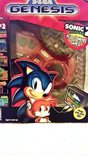 Sega Genesis Radica Plug and Play 6 Games-In-One – PlayConsoler