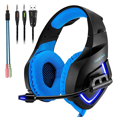 Gaming Headset with Mic for PS4,PC,Xbox One, Laptop Sound Clarity