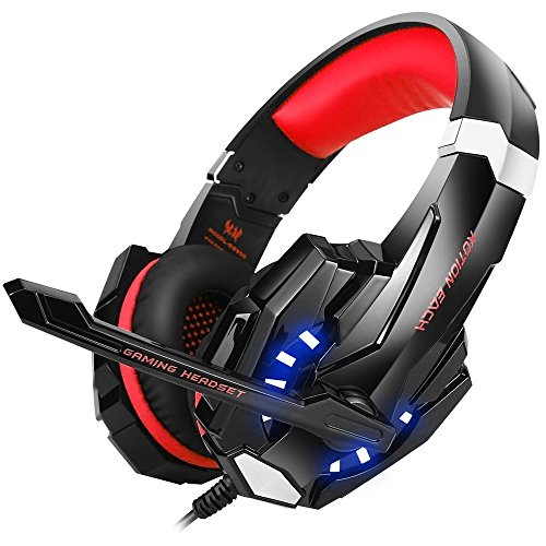BENGOO BX023R Stereo Gaming Headset for PS4, PC, Xbox One