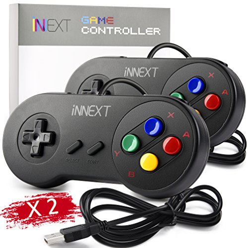 2 Pack Classic N64 Controller, iNNEXT N64 Wired USB PC Game pad